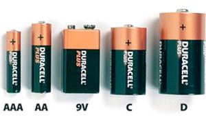 типи батарейок