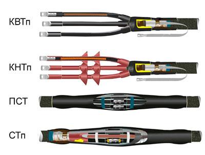різновиди кабельних муфт