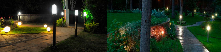 sadovo parkovye svetilniki