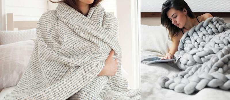 теплые одеяла