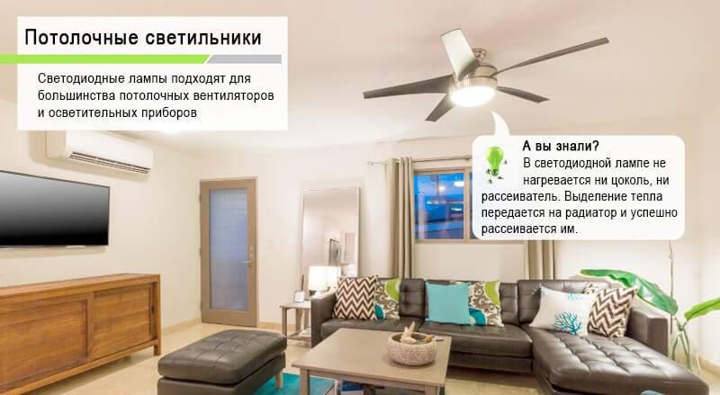 светильник вентилятор фото